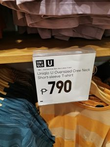 the other item for uniqlo U