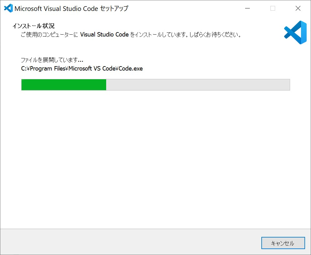 VSCode installer process step6